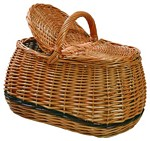Fonott piknik kosár