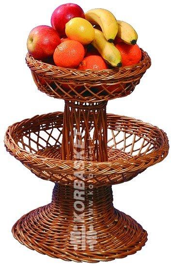 Lak skieg sz t k fonott kos r fonott kos r gy rt s korbasket kft - Corbeille a fruits 3 etages ...